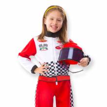 Racing Car Driver Fancy Dress Role Play Costume Set