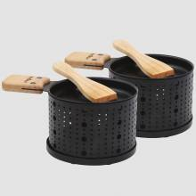 Tealight Cheese Raclette Set For 2