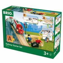 """Railway Starter Set """"A"""" BRIO® Wooden Railway Age 3+"""