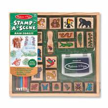 Rain Forest Stamp-A-Scene By Melissa & Doug 4+