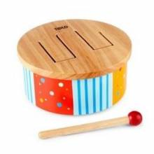 Rainbow Solid Wood Drum 12m+