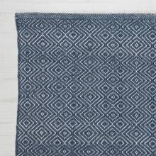 Diamond NAVY 240x70cm Recycled Bottle Rug