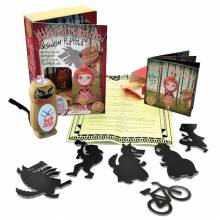 Little Red Riding Hood Shadow Puppet Set With Torch
