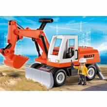 Rubble Excavator City Action Playmobil 6860