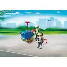 Sanitation Team City Action Playmobil 6113