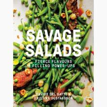Savage Salads - Hardback Book