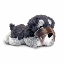 Fergus The Grey Schnauzer Dog Soft Toy 35cm