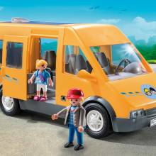 Playmobil Schoolbus Van City Life 6866 Age 4+
