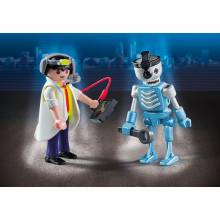 Scientist With Robot Duo Pack Playmobil 6844