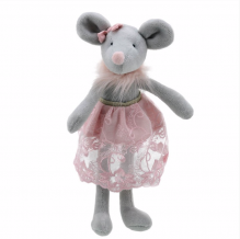 Mouse - Wilberry Dancer Soft Toy 0+
