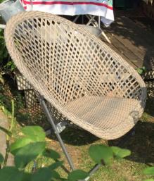 Rattan Lounge Chair Single