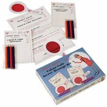 Secret Agent Colour Code Secret Message Kit