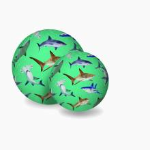 Sharks - Large Rubber Picture Ball 18cm