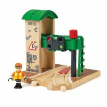 Signal Station BRIO® Wooden Railway 3+