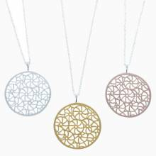 Small Broderie Necklace - Gold