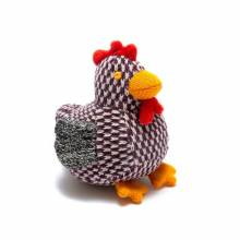 Chirpy The Chick Knitted Rattle Soft Toy 0+