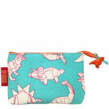 Green Small Dinosaur Origami Purse