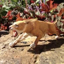 SMILODON Sabre Tooth Tiger Papo Dinosaur