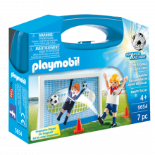 Soccer Small Carrying Case Playmobil 5654