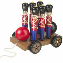 Soldier Skittles Pull Along Toy By Orange Tree 1+