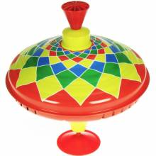 Large Colourful Humming Top Musical Spinning Top