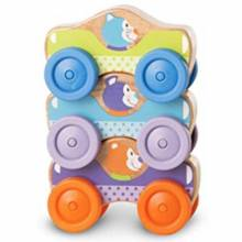 Animal Stacking Cars 9mth+