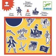 Pirates - Stamp Set By Djeco