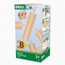 """Starter Track Pack """"B"""" BRIO® Wooden Railway Age 3+"""