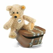 Charly Bear Soft Toy In Suitcase By Steiff