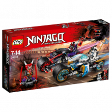 LEGO® Ninjago Street Race Of Snake Jaguar 70639