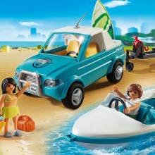 Surfer Pickup With Speedboat Playmobil Summer Fun 6864 4-10yrs