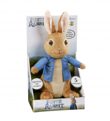 Talking Peter Rabbit Soft Toy 0+