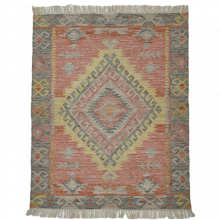 Tarifa Kilim Rug 180X120cm Recycled Bottle Rug