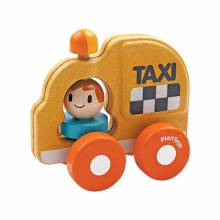 Taxi Car Toy By Plan Toys 1+