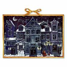 The Christmas House At Night Advent Calendar (Colourful Inside)