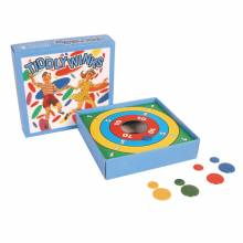 Tiddly Winks In Retro 50's Blue Box The Classic Childhood Game