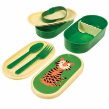 Tiger Melamine Bento Box