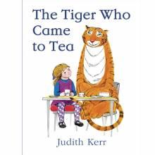 O/PRINT The Tiger Who Came To Tea Board Book