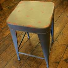 Tolix Bar Stool Grey