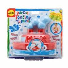 Tooting Tugboat Boat In The Tub Alex Bathtoy