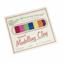 Traditional Modelling Clay In Retro Pack