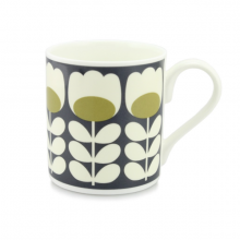 Tulip Stem Orla Kiely Bone China Mug