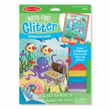 Underwater Scenes - Mess-Free Glitter Sheets By Melissa & Doug