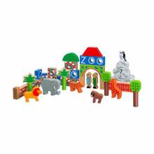 Wooden Zoo Building Blocks Handcrafted Fairtrade Lanka Kade