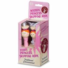Boxed Wooden Princess Skipping Rope