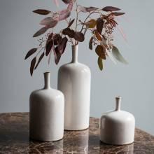 Vorm Ornamental Vase Natural  12.5x12.5x16cm