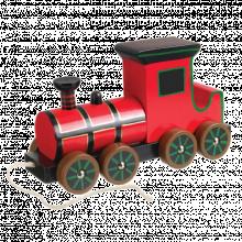 Retro Steam Train Pull Along Toy 12+