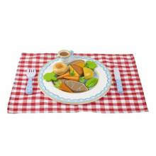 Wooden Roast Dinner Play Set By Orange Tree Toys 3+
