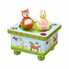 Woodland Friends Music Box By Orange Tree Toys