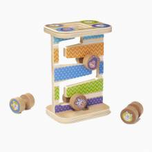 Wooden Safari Zig Zag Tower By Melissa & Doug 1+